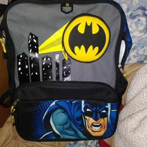 Batman Backpack, Lakers Phone, Skullcandy Headphones, Boxing Gloves for Sale in Bakersfield, CA