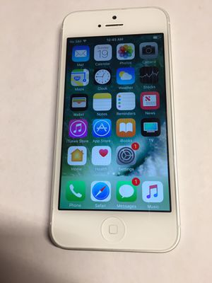 Unlocked Apple iPhone 5 for Sale in Fontana, CA