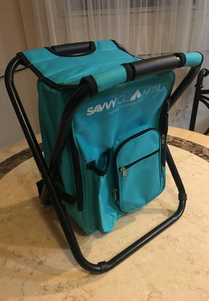 Savvy Glamping: portable backpack seat! for Sale in Washington, DC