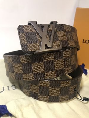 Louis Vuitton Brown Ebene Belt *Cyber Monday Sale* for Sale in Queens, NY
