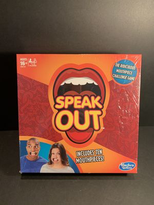 Speak Out Mouthpiece Challenge Game for Sale in Reno, NV