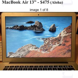 "MacBook Air 13"" - $475 for Sale in Beaverton, OR"