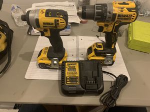 Dewalt XR drill & impact kit for Sale in Charlotte, NC