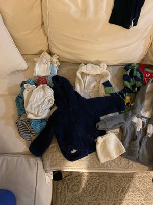 Baby boy clothes 0-3 months for Sale in Virginia Beach, VA