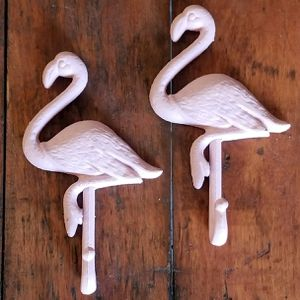 "Brand New! PAIR of 8 1/2"" Flamingo Hooks for Sale in Miami, FL"