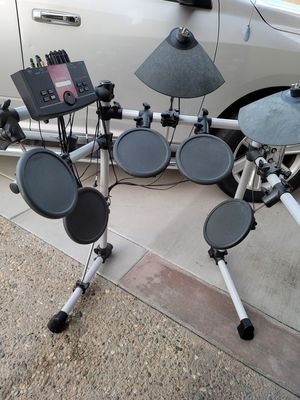 Yamaha electric drum set complete for Sale in Orange, CA