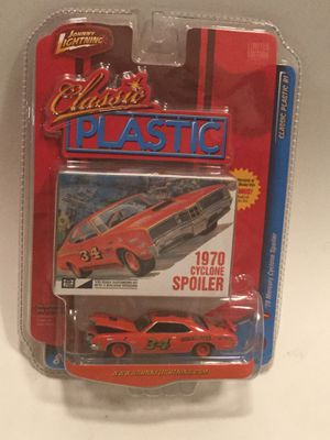 Johnny Lightning 1970 Mercury Cyclone Spoiler 1:64 Classic Plastic RI Limited Edition for Sale in Los Angeles, CA
