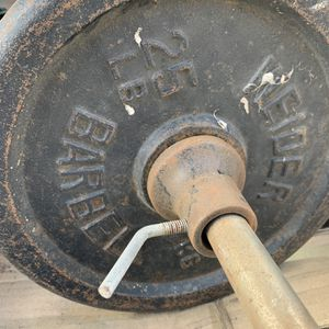 Weirder 25# Weights And Curl Bar for Sale in Moreno Valley, CA