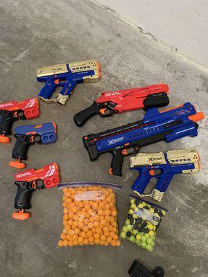 Nerf rival lot 7 for Sale in Boca Raton, FL
