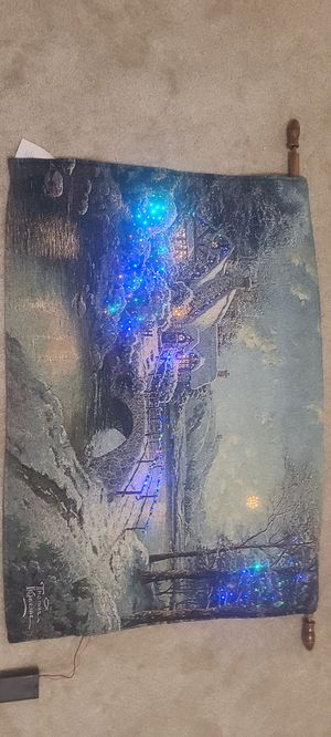 Tapestry Wall with Fiber Optic for Sale in Henderson, NV