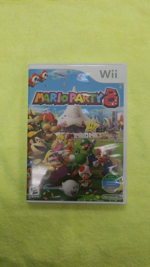 Nintendo Wii Mario Party 8 Great Condition With Case for Sale in Puyallup, WA