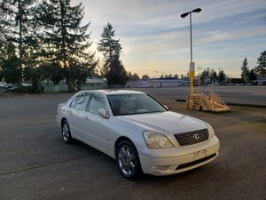 2001 Lexus LS430 for Sale in Tacoma, WA