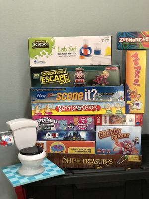 Games, Puzzle Etc. for Sale in Auburn, WA