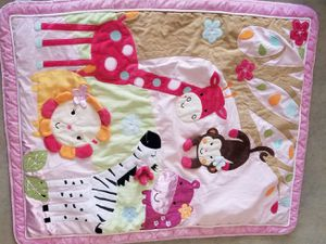 Girls Crib Bedding Set bumpers for Sale in Elon, NC