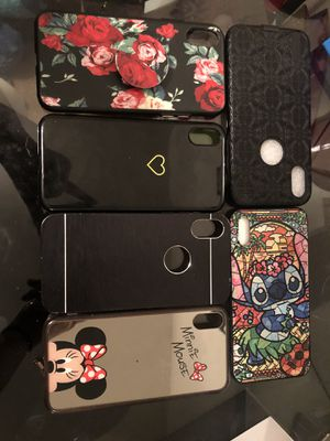 iPhone X Cases and screen protectors for Sale in Laveen Village, AZ
