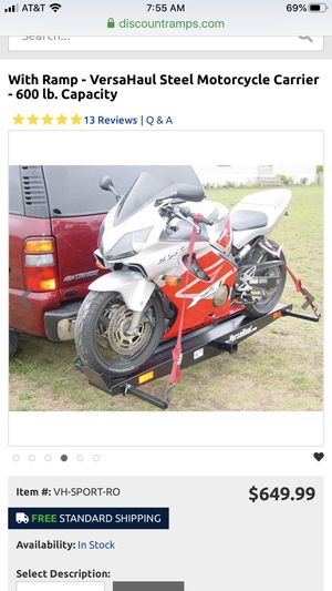 Versa motorcycle hauler for Sale in San Diego, CA