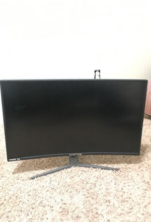 Sceptre 27 inch curved gaming monitor for Sale in Bakersfield, CA