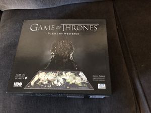 GOT Game of Thrones puzzle 4d for Sale in Auburn, WA