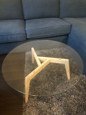 Article Clarus glass coffee table for Sale in San Francisco, CA