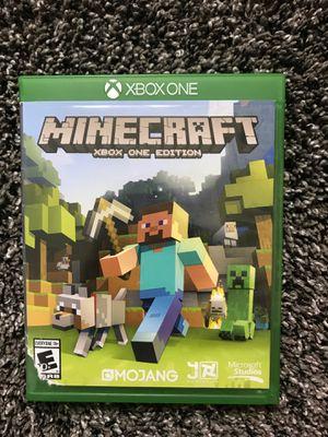 Xbox one Minecraft for Sale in Lincoln, NE