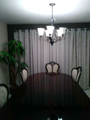 Large wooden dining table for Sale in Fort Lauderdale, FL