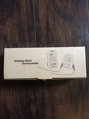 MINGER Digital Meat Thermometer, Govee Wireless Grill Thermometer with 2 Probes Remote Cooking Food Thermometer for BBQ Meat Thermometer with Timer a for Sale in Harlingen, TX