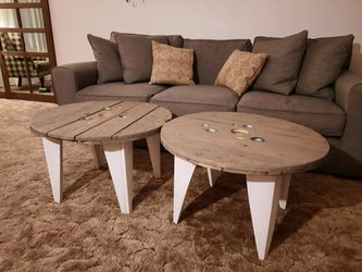 Wire Spool Coffee Tables Farmhouse Style for Sale in Battle Ground,  WA