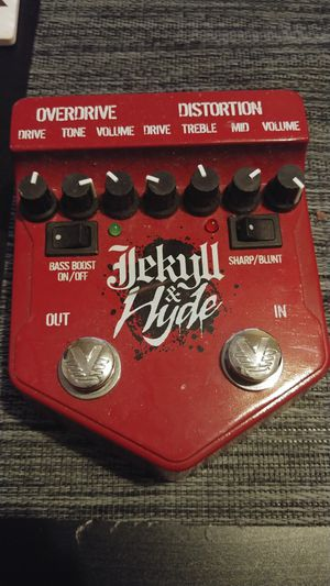 Jekyll & Hyde overdrive/distortion pedal for Sale in Queens, NY