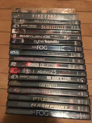 DVD LOT NEW SEALED for Sale in CAPE ELIZ, ME