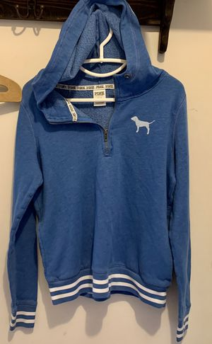 PINK Women's Small Quarter Zip Pullover for Sale in St. Peters, MO