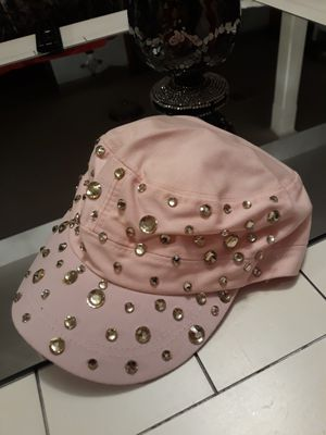 Women's jeweled hat cap pink for Sale in Hickory Hills, IL
