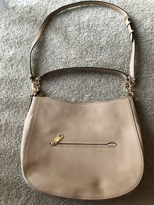 Coach Leather Hobo Bag Beige for Sale in Los Angeles, CA