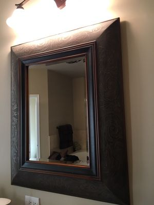 3 ft x 2 ft mirror. $50 each I have a Set of 2. Will separate for Sale in Chicago, IL