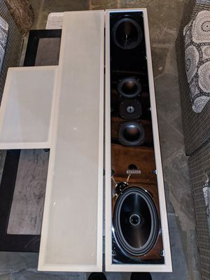 Pair of Sonance Silhouette II Signature series In Wall Speakers HIGH END for Sale in Rockville, MD