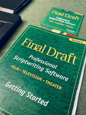 Final Draft - Professional Screen Writing Software📽🎭🎞🎥 for Sale in Champaign, IL