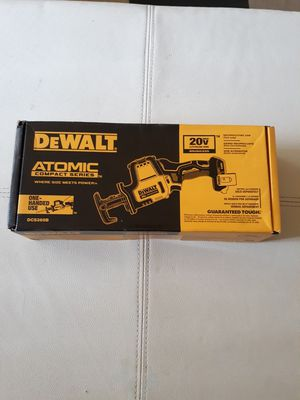 DEWALT 20 VOLT XR BRUSHLESS COMPACT RECIPROCATING SAW (TOOL ONLY). DCS396 NEW . NUEVO for Sale in Atlanta, GA