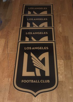 4 LAFC Shields for Sale in Los Angeles, CA