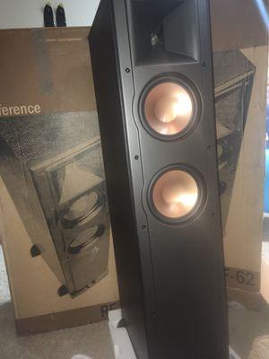 Klipsch Ref IV rf-62 floor speakers Brand New for Sale in Round Rock, TX