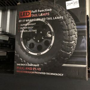Led Tail Light For Jeep Wrangler for Sale in Pompano Beach, FL