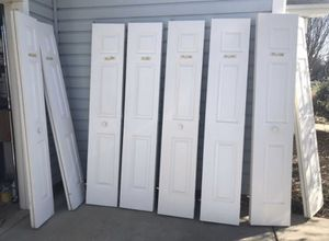 Bifold doors- various sizes for Sale in Harrisburg, NC
