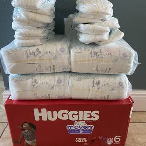 Huggies Little Movers Size 6 for Sale in Port Richey, FL