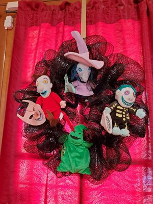 The Nightmare before Christmas wreath for Sale in El Paso, TX