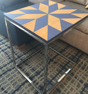 Upcycled Barnyard Quilt Design Slide Table - Hand Painted for Sale in Boston, MA