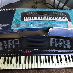 Casio MA-120 Electronic Musical Keyboard for Sale in North Aurora, IL