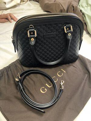 Gucci black leather GG shoulder bag for Sale in Palos Verdes Estates, CA