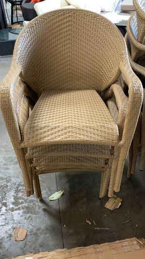 patio furniture outdoor seating chairs 39$ /each for Sale in Rancho Cucamonga, CA