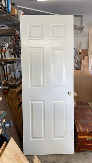 """One 6 panel interior doors 28"""" x 80"""" for Sale in Long Beach, CA"""