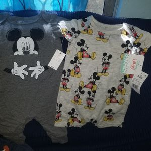 New W Tags Mickey mouse Clothes size 3-6months for Sale in Bell Gardens, CA