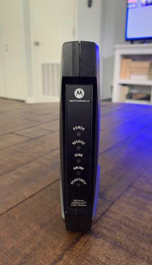 Motorola Cable Modem for Sale in Jacksonville, FL