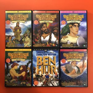 Bible stories DVD set of 12 for Sale in Savage, MD